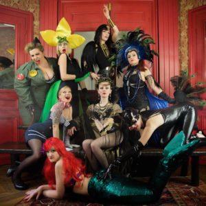 Rocka burlesque Salon Amours et Handicaps 2021 à Hyères (Var)